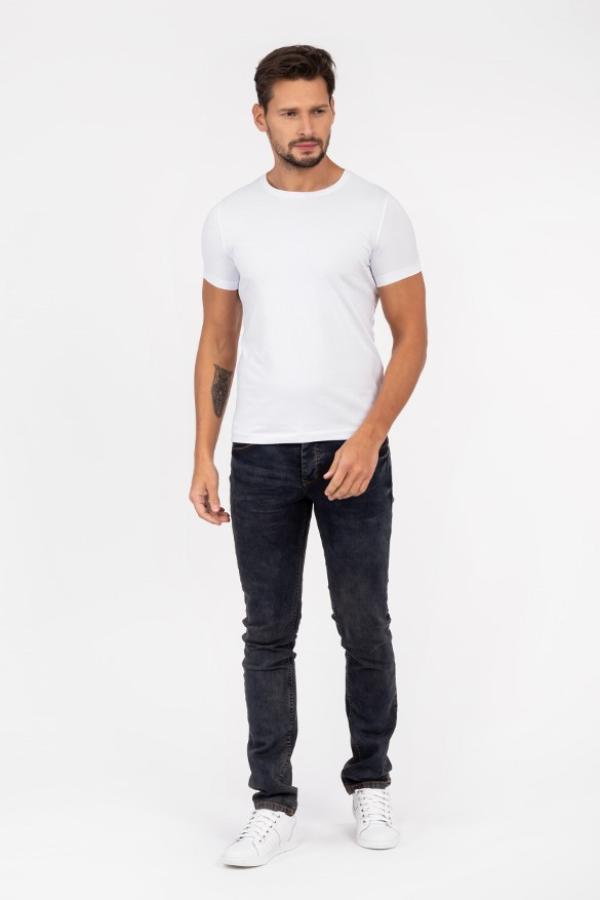 Tshirt męski biały - wiosna 2021